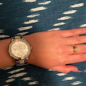 #GUESS Silver Watch